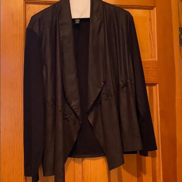 Open front blazer
